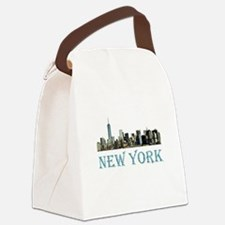 New York City Canvas Lunch Bag