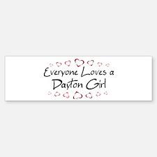 Dayton Girl Bumper Bumper Bumper Sticker