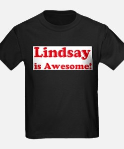Lindsay is Awesome Ash Grey T-Shirt