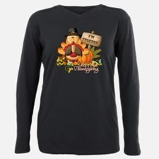 Cool Thanksgiving Plus Size Long Sleeve Tee