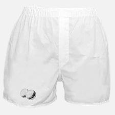 Funny Hilarious golfing Boxer Shorts