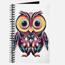 Colorful Little Owl Journal