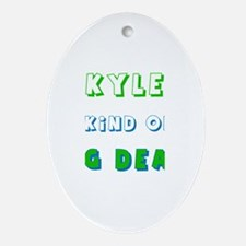 Skyler Is Kind of a Big Deal Oval Ornament