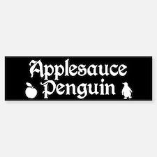 TVD Applesauce Penguin Bumper Bumper Bumper Sticker