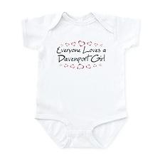 Davenport Girl Infant Bodysuit