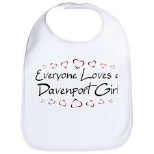 Davenport Girl Bib