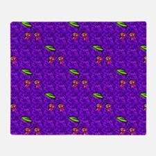 Berry Scarry Throw Blanket