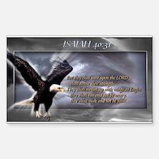 ISAIAH 40:31 Rectangle Decal