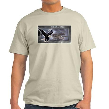 ISAIAH 40:31 Light T-Shirt