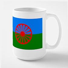 Romani Flag (Gypsies Flag) Mugs