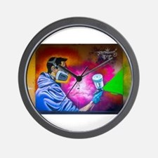 Graffiti Tagger Wall Clock