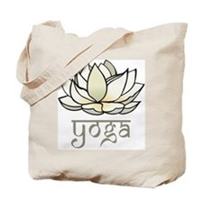 Lotus Yoga Tote Bag