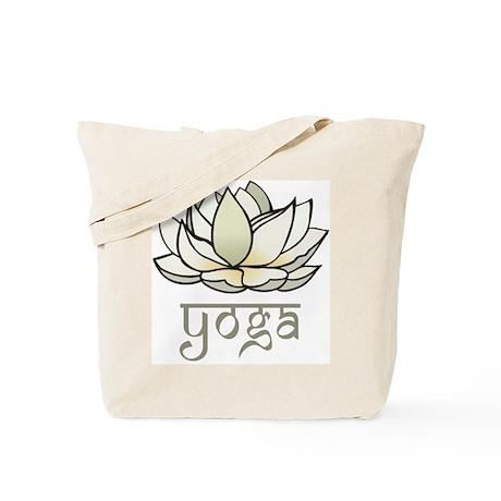 Lotus Yoga Tote Bag