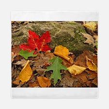 Fall Leaves Queen Duvet