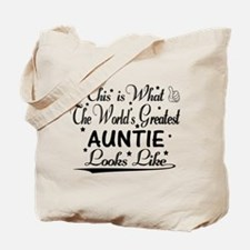 World's Greatest Auntie... Tote Bag