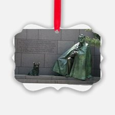 Fdr And Fala Ornament