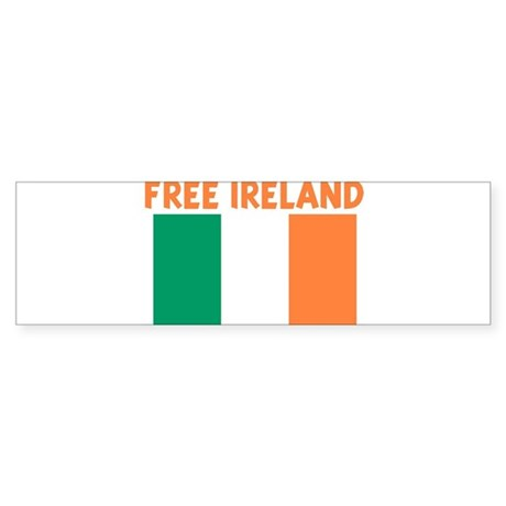 FREE IRELAND Bumper Sticker