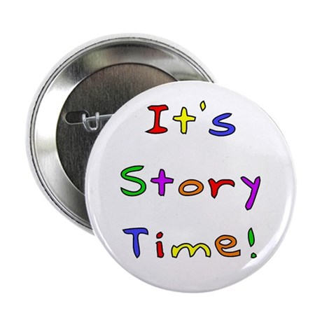"""It's Story Time! 2 2.25"""" Button (100 pack)"""