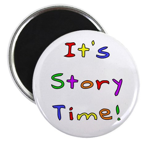 It's Story Time! 2 Magnet