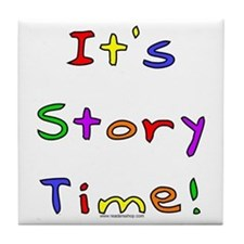 It's Story Time! 2 Tile Coaster