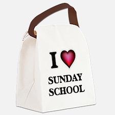 Cute Sunday school Canvas Lunch Bag