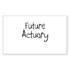 Future Actuary Rectangle Decal