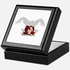 Angry Ape Keepsake Box