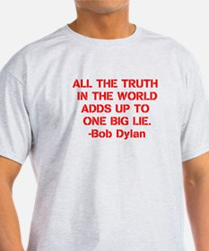 Bob Dylan Truth (Backside) T-Shirt