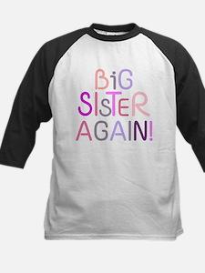 Big Sister Again Baseball Jersey