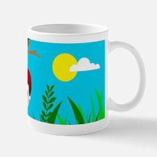 santa sloth Mugs