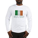 Ireland Long Sleeve T-shirts