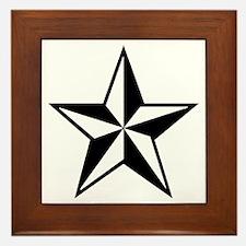 Lone Star Framed Tile