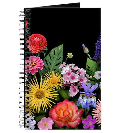 Mixed Flowers Journal