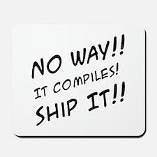 Computer Programming Humor Mousepad