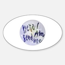 Cute Missionary Sticker (Oval)