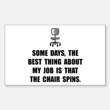 Job Chair Spin Decal
