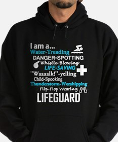 Unique Lifeguard Hoodie (dark)