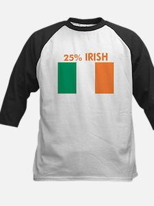 25 PERCENT IRISH Kids Baseball Jersey