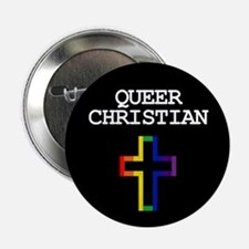 QUEER CHRISTIAN Button