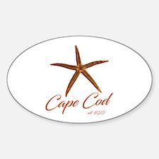 Cape Cod Starfish Decal