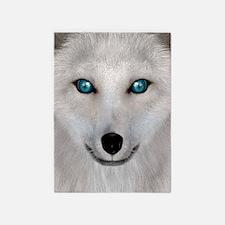 Arctic Fox 5'x7'Area Rug