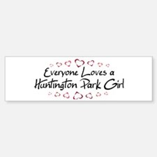 Huntington Park Girl Bumper Bumper Bumper Sticker