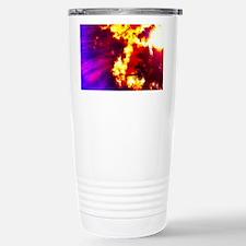 Palm Tree Sunburst Travel Mug