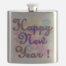 Happy New Year Flask