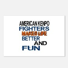 American Kenpo Fighters M Postcards (Package of 8)
