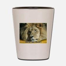 Cool Roar Shot Glass