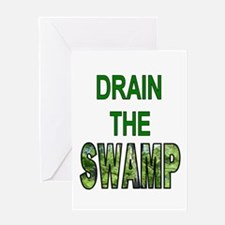 Drain The Swamp Greeting Cards
