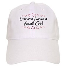 Kuwait Girl Baseball Cap