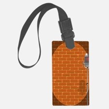 Unique Comedian microphone Luggage Tag