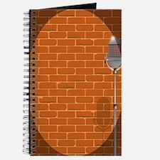 Cute Comedian microphone Journal